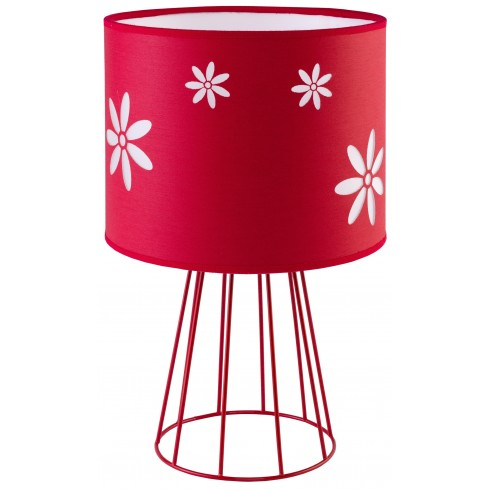 Flora Red Table