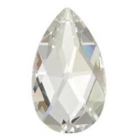 Crystal Almond Clear 45x28mm