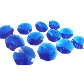 Crystal Blue 14mm (10tk)