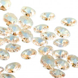 Crystal Gold 14mm (10tk)